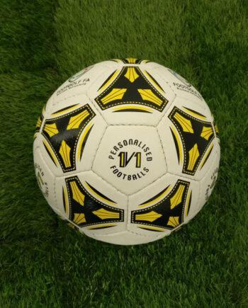 1v1 logo footballs